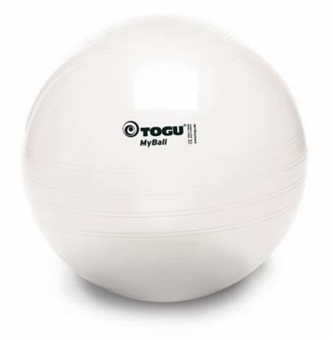 Мяч для фитнеса (фитбол) 75 см Togu белый
