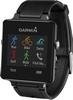 Часы спортивные Garmin с датчиком сердечного ритма vivoactive black bundle - фото 1
