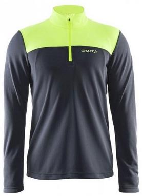 Пуловер мужcкой Craft Shift Free Halfzip M asphalt/flumino