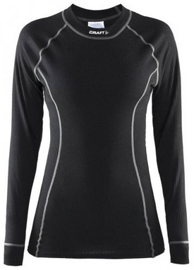 Термофутболка женская с длинным рукавом Craft Active Long Underpants W black
