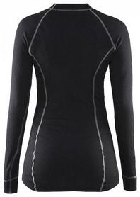 Фото 2 к товару Термофутболка женская с длинным рукавом Craft Active Long Underpants W black