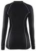 Распродажа*! Термофутболка женская с длинным рукавом Craft Active Long Underpants W black - размер M - фото 2