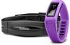 Браслет спортивный с датчиком частоты биения сердца Vivofit Purple HRM Bundle - фото 1
