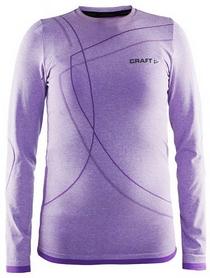Термофутболка детская с длинным рукавом Craft Active Comfort RN LS lilac