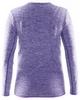 Термофутболка детская с длинным рукавом Craft Active Comfort RN LS lilac - фото 2