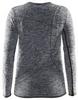 Термофутболка детская с длинным рукавом Craft Active Comfort RN LS black - фото 2