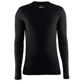Термофутболка мужская с длинным рукавом Craft Warm Wool black - L
