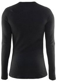 Фото 2 к товару Термофутболка мужская с длинным рукавом Craft Warm Wool black