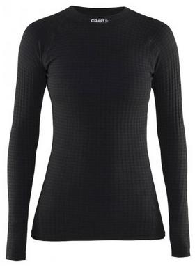 Термофутболка женская с длинным рукавом Craft Warm Wool black