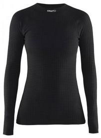 Фото 1 к товару Термофутболка женская с длинным рукавом Craft Warm Wool black