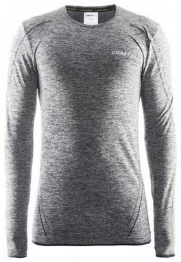 Термофутболка мужская с длинным рукавом Craft Active Comfort RN black