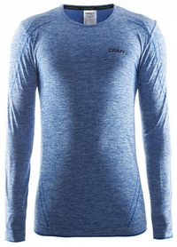 Термофутболка мужская с длинным рукавом Craft Active Comfort RN sweden blue