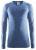 Термофутболка мужская с длинным рукавом Craft Active Comfort RN sweden blue - фото 1