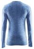 Термофутболка мужская с длинным рукавом Craft Active Comfort RN sweden blue - фото 2