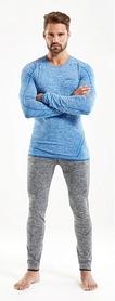 Фото 4 к товару Термофутболка мужская с длинным рукавом Craft Active Comfort RN sweden blue