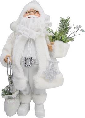 Дед Мороз с посохом Angel gifts F05W-SILW-S3A18ST