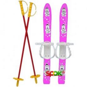 Лыжи детские Marmat Baby Ski 70 см малиновые