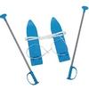 Лыжи мини Marmat Baby Ski 40 см синие - фото 1