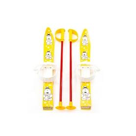 Фото 1 к товару Лыжи детские Marmat Baby Ski 70 см желтые