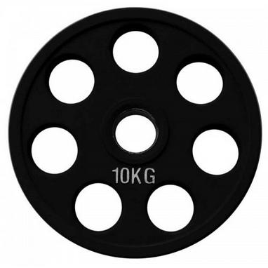 Диск обрезиненный олимпийский 10 кг Alex - 51 мм