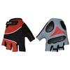 Велоперчатки текстильные SCOYCO ВG03-R (открытые пальцы, р-р S-L, красный) - фото 1