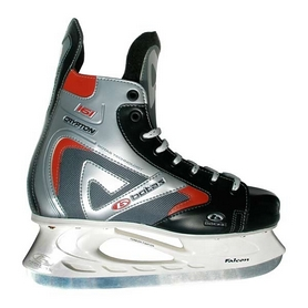 Коньки хокейные мужские Crypton 161 белые - 37