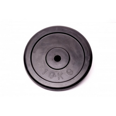 Диск обрезиненный 10 кг Alex - 26 мм
