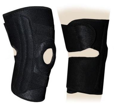 Суппорт колена (ортез) со спиральными ребрами жесткости ZLT BC-1026