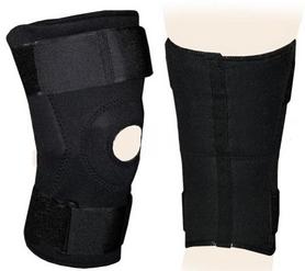 Распродажа*! Суппорт колена (ортез) коленного сустава с боковой стабилизацией и шарниром ZLT BC-0026 - размер M