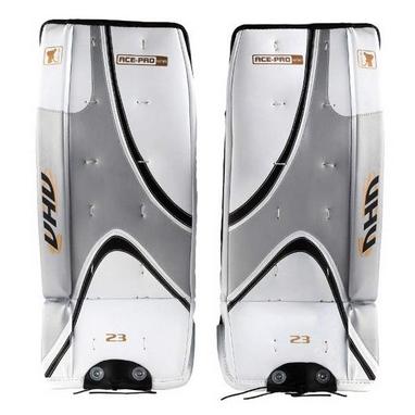 Щитки вратарские хоккейные детские Opus ACE PRO 3725 red/white