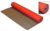 Коврик для фитнеса Yoga mat TPE+TC 4мм FI-3973 красно-серый - фото 1