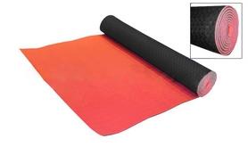 Фото 1 к товару Коврик для фитнеса Yoga mat TPE+TC 4мм FI-3973 красно-черный
