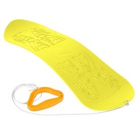 Фото 1 к товару Ледянка-сноуборд Plast Kon Skyboard желтый