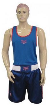 Форма боксерская двухсторонняя Everlast МА-6010-B сине-красная