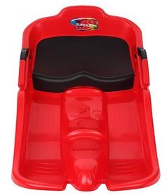 Фото 2 к товару Санки Plast Kon Super Jet красные