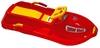Снегокат Plast Kon Snow Boat красные - фото 1