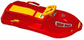 Снегокат Plast Kon Snow Boat красные