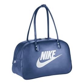 Фото 1 к товару Сумка Nike Heritage Si Shoulder Club синяя с белым
