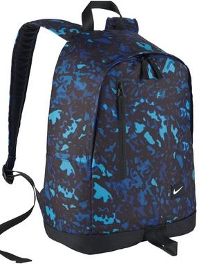 Рюкзак городской Nike All Access Halfday синий с черным