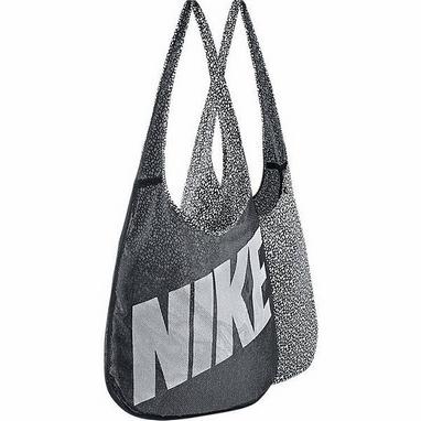Сумка женская Nike Graphic Reversible Tote серая