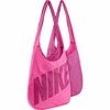 Сумка женская Nike Graphic Reversible Tote розовая - фото 1