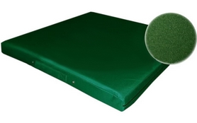 Мат гимнастический ZLT 100x100x8 см зеленый