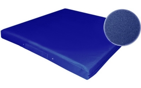 Фото 1 к товару Мат гимнастический ZLT 100x100x8 см синий