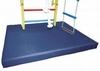 Мат гимнастический с вырезом под шведскую стенку ZLT 120х100х8 см синий - фото 4