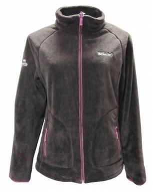 Куртка женская Tramp Мульта коричневая с розовым