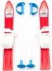 Лыжи с палками детские Marmat 60 см красный - фото 1