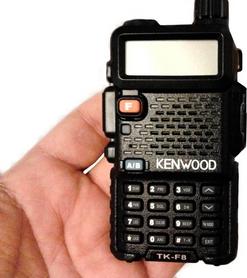 Фото 3 к товару Рация носимая Kenwood TK-F8 dual band