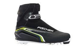 Ботинки для беговых лыж Fischer XC Comfort Pro 2015/2016 blue/yellow
