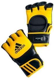 Перчатки тренировочные Adidas ММА/Combat желто-черные