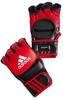 Перчатки тренировочные Adidas ММА/Combat красно-черные - фото 1